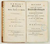 W. G. Browne, Reisen in Afrika, Egypten und Syrien.- Bibliothek der neuesten und wichtigsten Reisebe