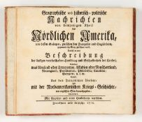 G.-M. Butel-Dumont u. J. Huske, Geographische u. historisch-politische Nachrichten des nördlichen Am