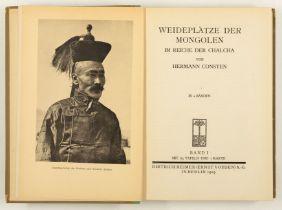 H. Consten, Weideplätze der Mongolen im Reiche der Chalcha. 2 Bde. Bln. 1919-20.
