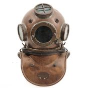A Divers Helmet
