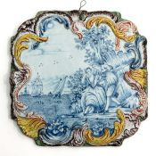 An 18th Century Delft Plaque