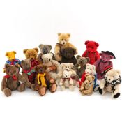 A Nice Collection of Vintage Bears