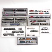 A Collection of Marklin Train Sets