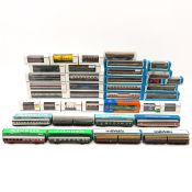 A Collection of Marklin Wagons