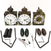 Collection of Comtoise Clocks