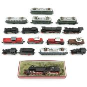 Collection of Marklin Locomotives