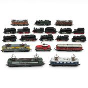 A Collection of Marklin Locomotives