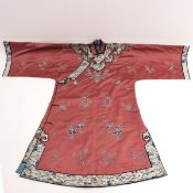 A Silk Embroidered Robe