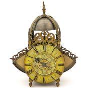 English wing lantern clock