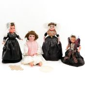 A Collection of Dolls