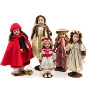 A Nice Collection of Dolls