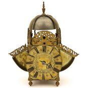 An English Wing Lantern Clock