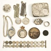 A Diver Collection of Coins and Misc.