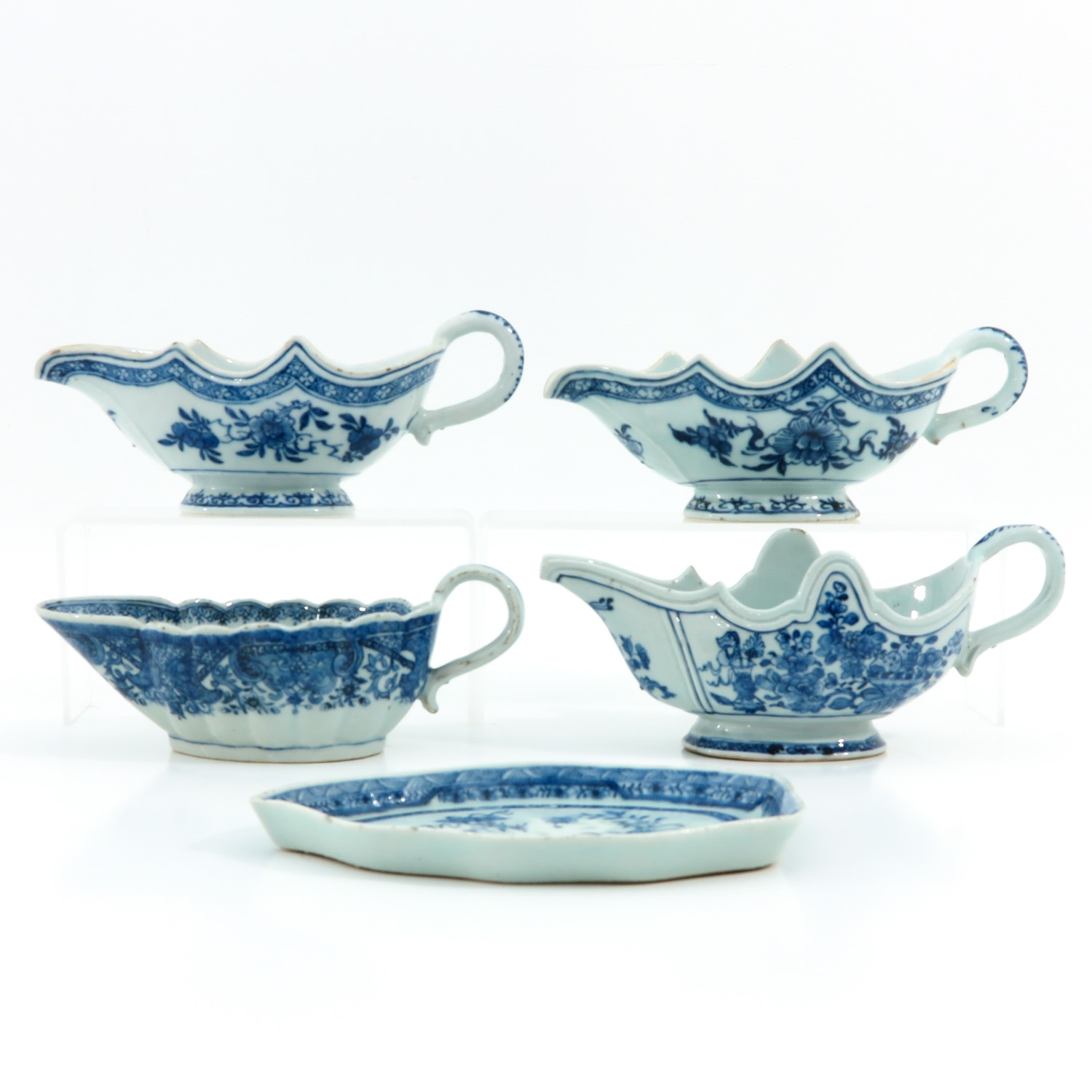 A Collection of Export Porcelain