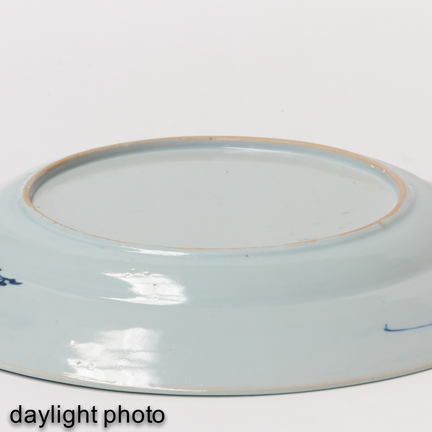A Blue and White Plate - Image 4 of 5