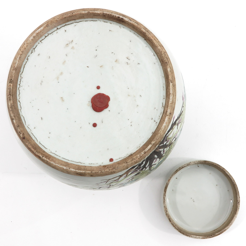 A Polychrome Decor Ginger Jar - Image 6 of 10