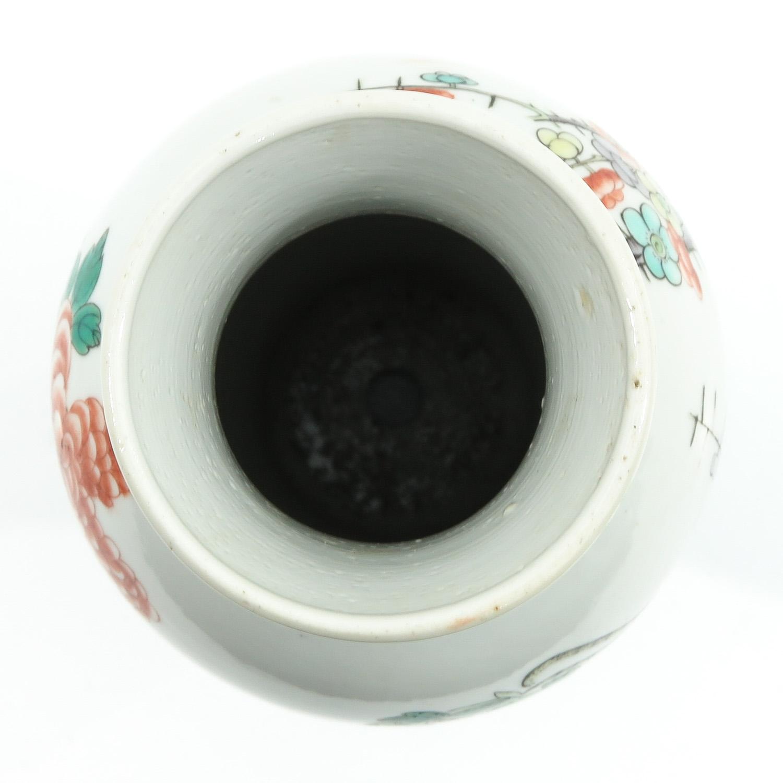 A Famille Verte Vase - Image 5 of 10