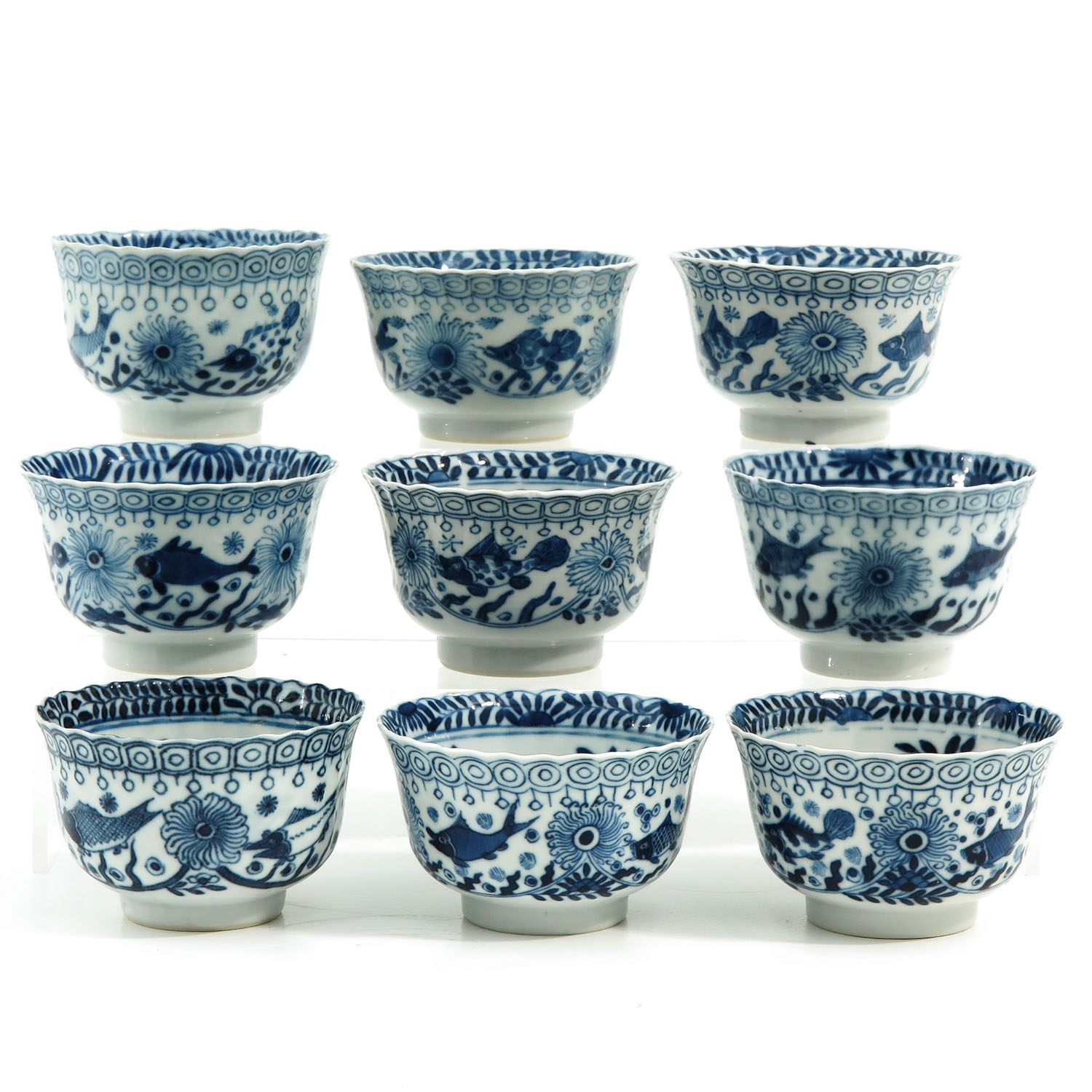 A Collection of Cups and Saucers - Image 4 of 10