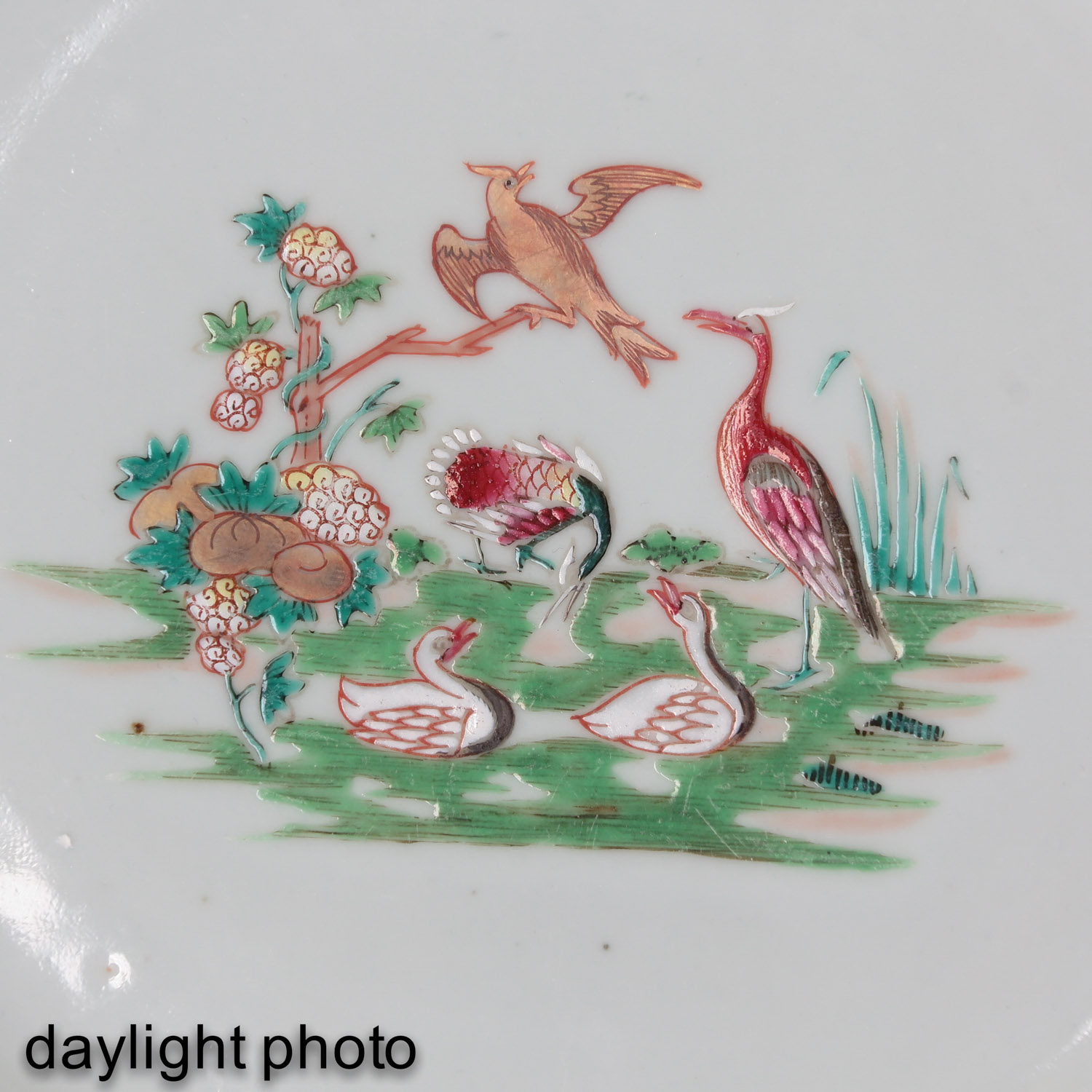 A Famille Rose Plate - Image 5 of 5