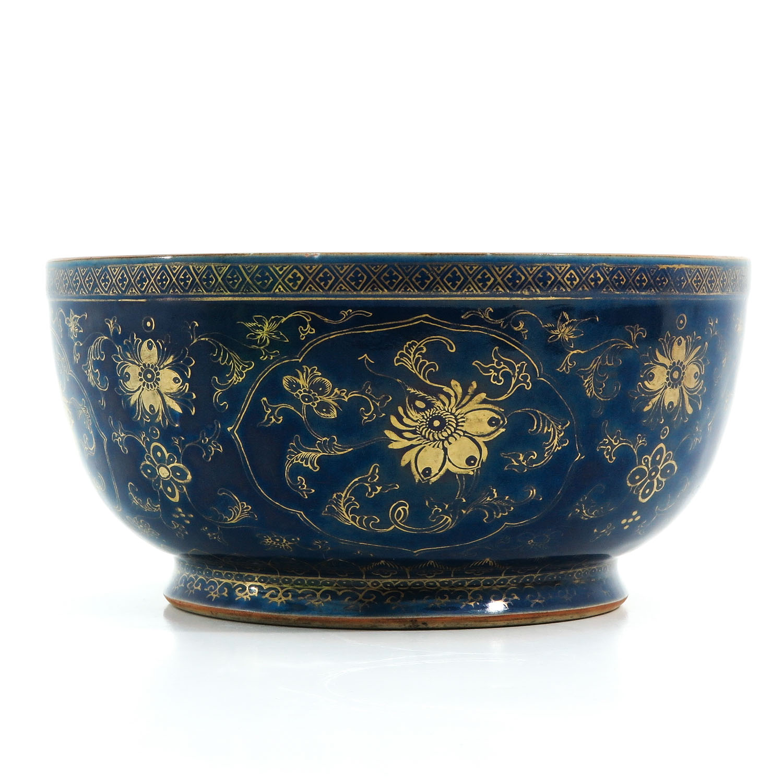 A Dark Blue and Gilt Bowl - Image 2 of 9