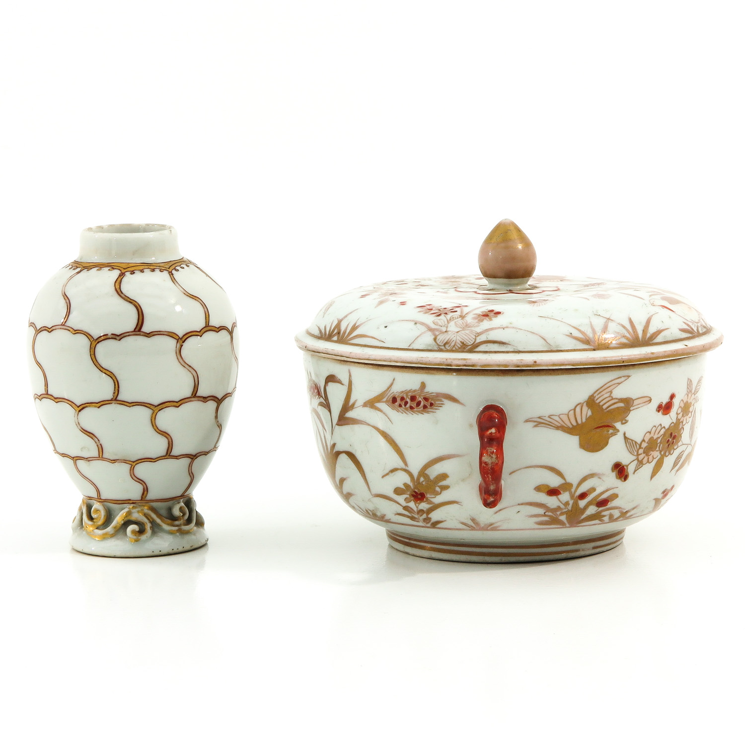 A Tea Box and Covered Dish - Image 4 of 9