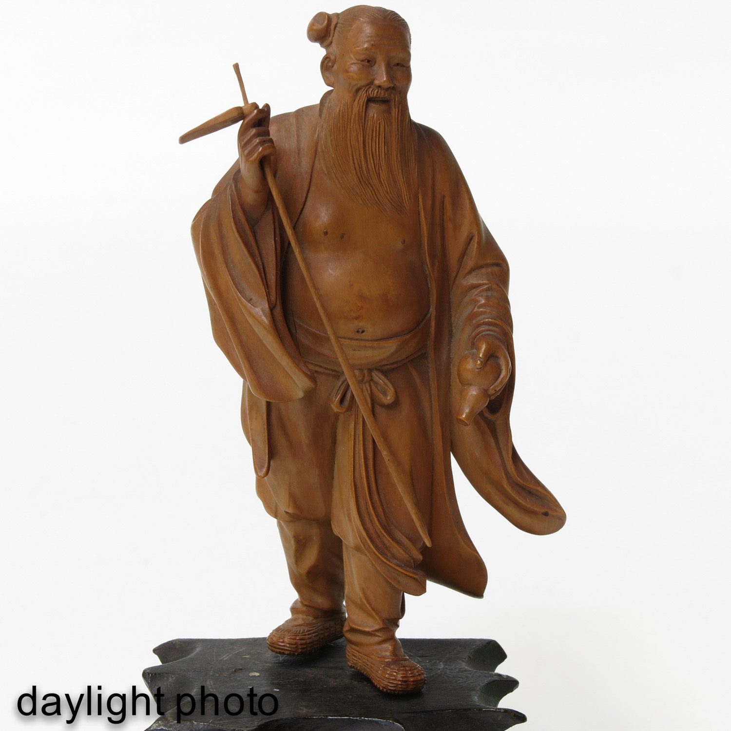 A Lot of7 Carved Sculptures - Image 9 of 10