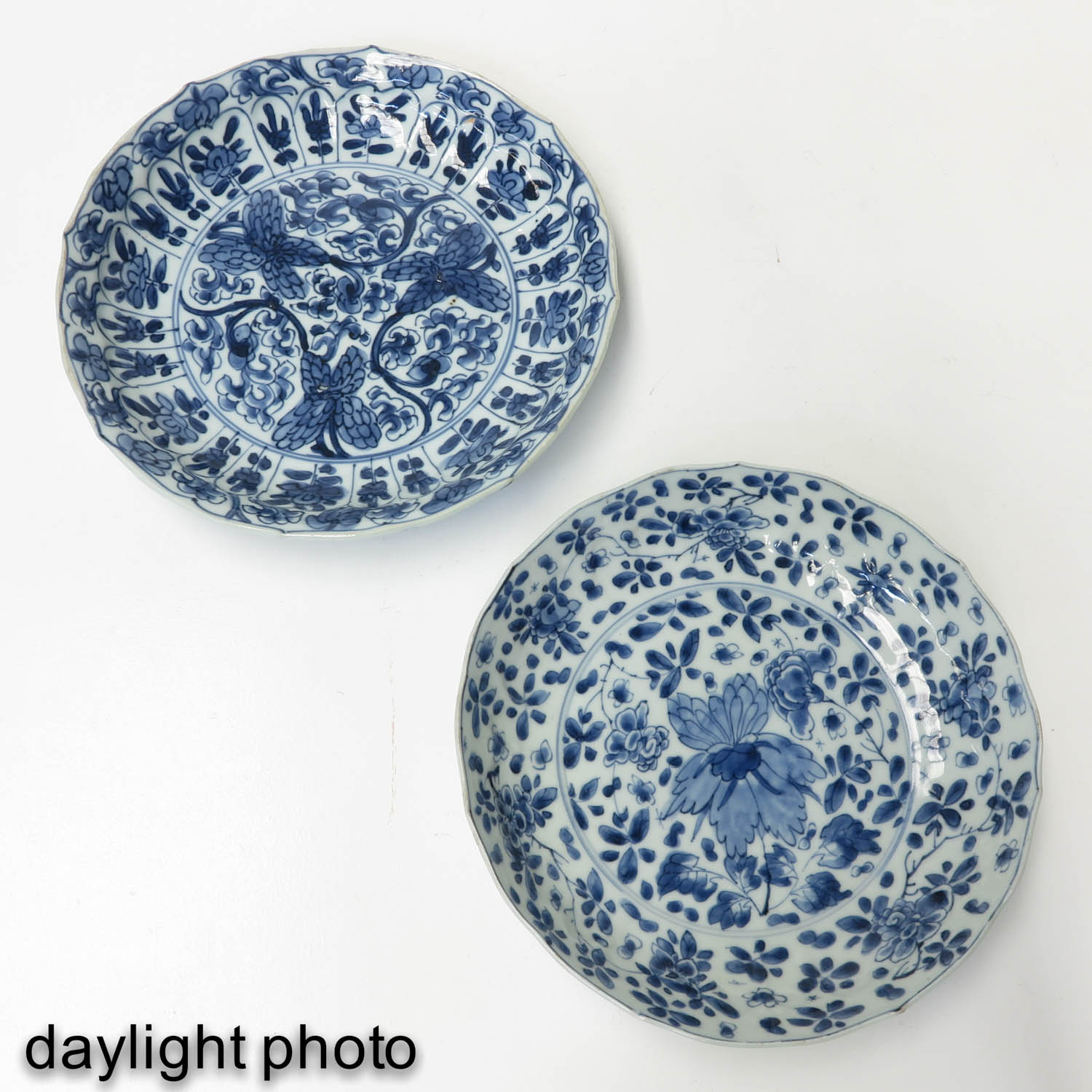 2 Blue and White Plates - Image 7 of 10