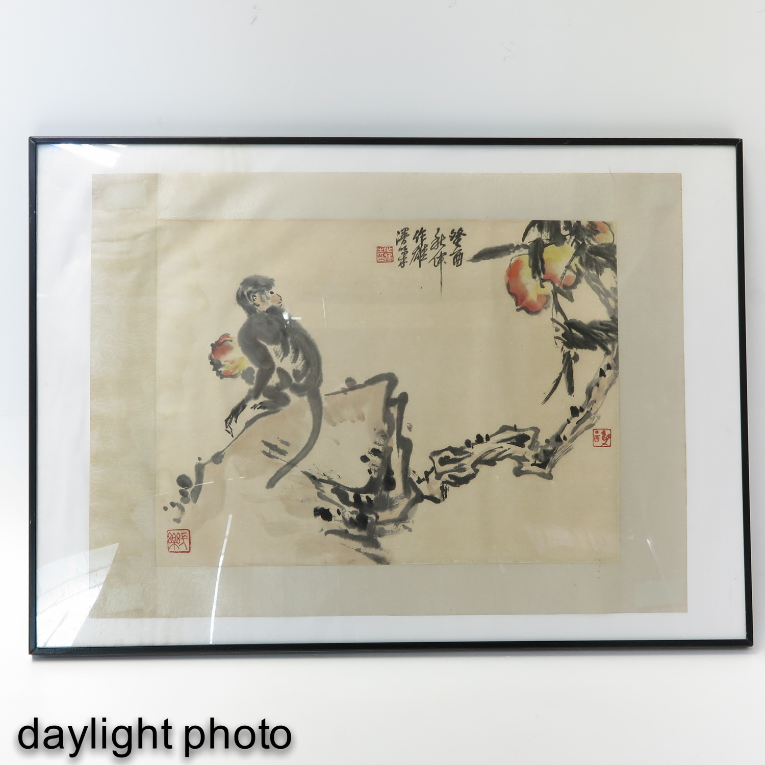 A Chinese Framed Work of Art - Image 3 of 7