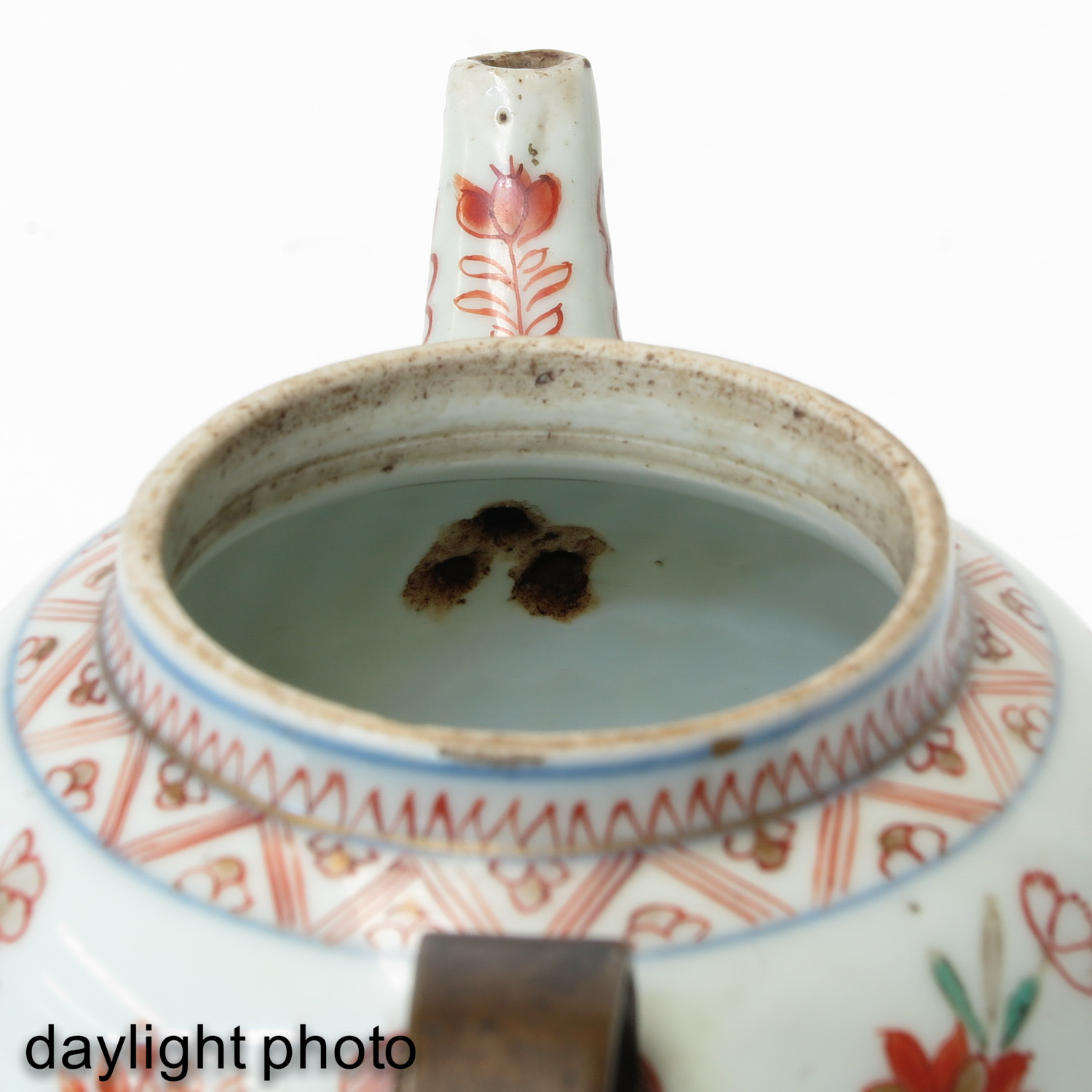 A Famille Rose Vase and Teapot - Image 9 of 9