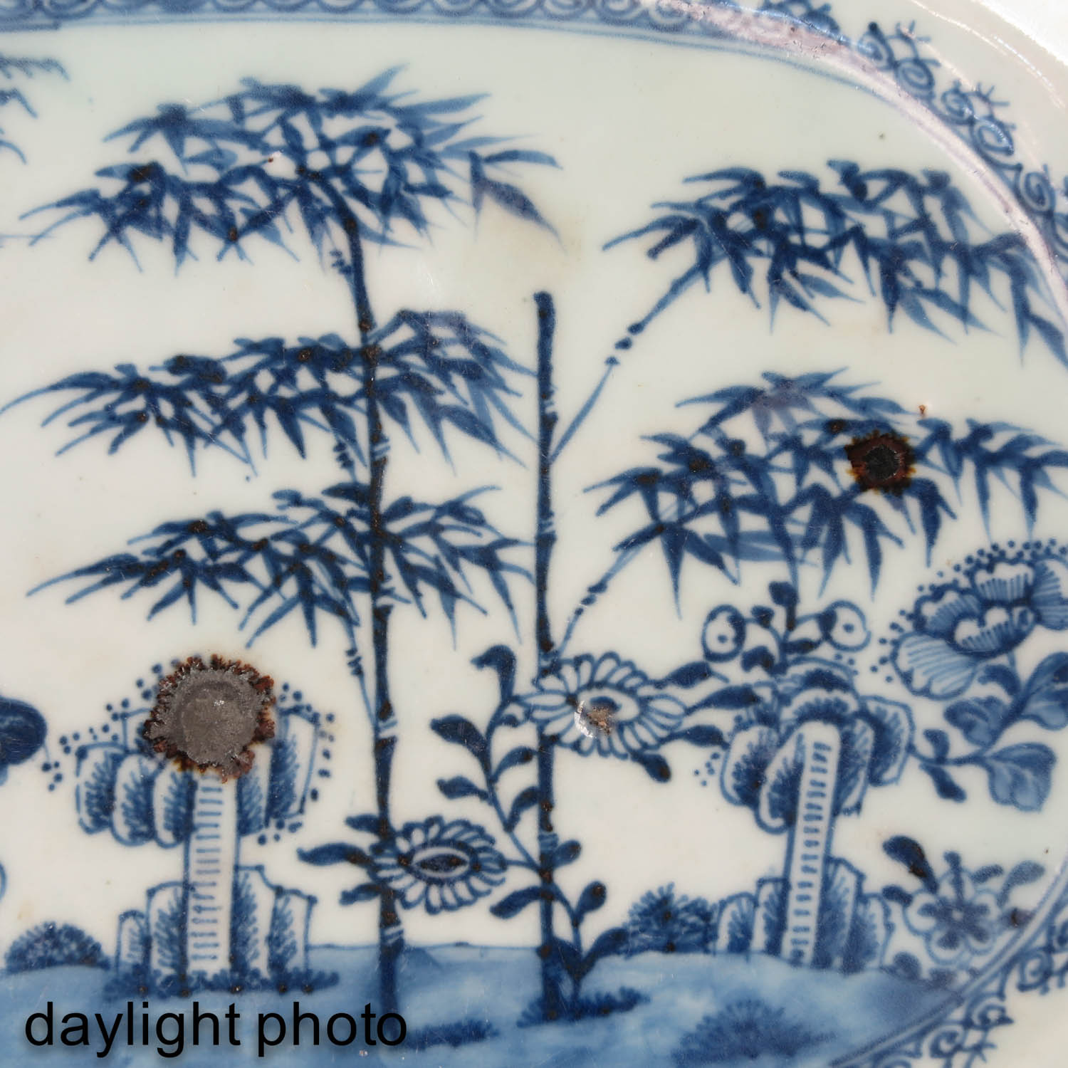 A Lot of 2 Blue and White Trays - Image 10 of 10