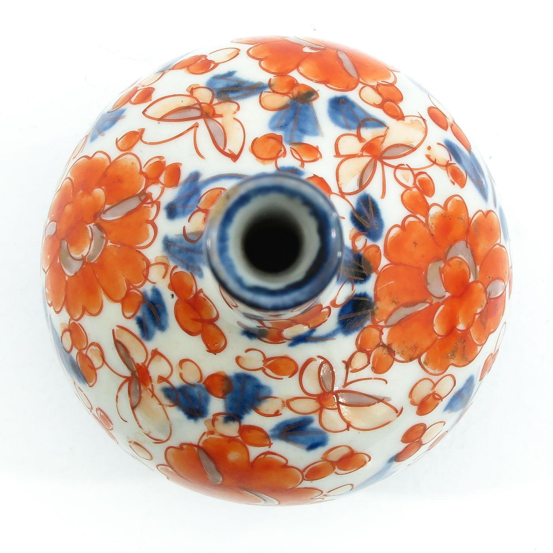 An Imari Vase - Image 5 of 9