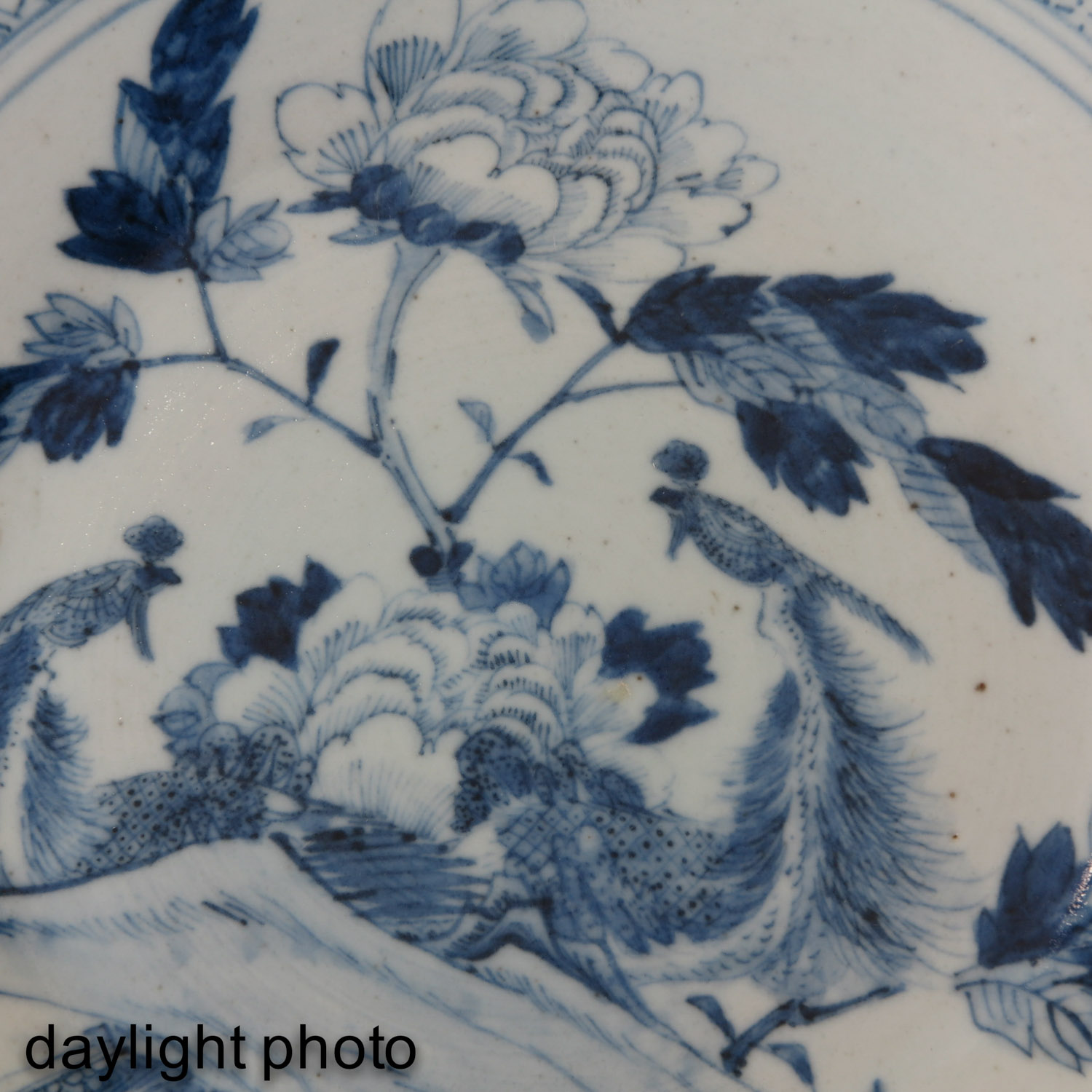 A Blue and White Dish - Image 5 of 5