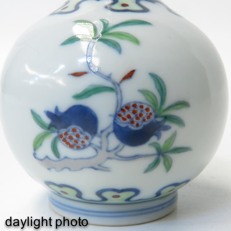A Small Doucai Decor Vase - Image 10 of 10