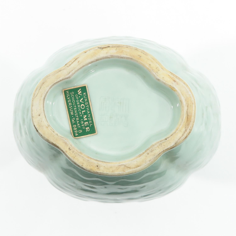 A Celadon Vase - Image 6 of 9