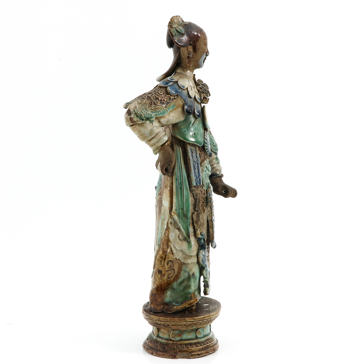 A Chinese Sculpture - Image 4 of 10