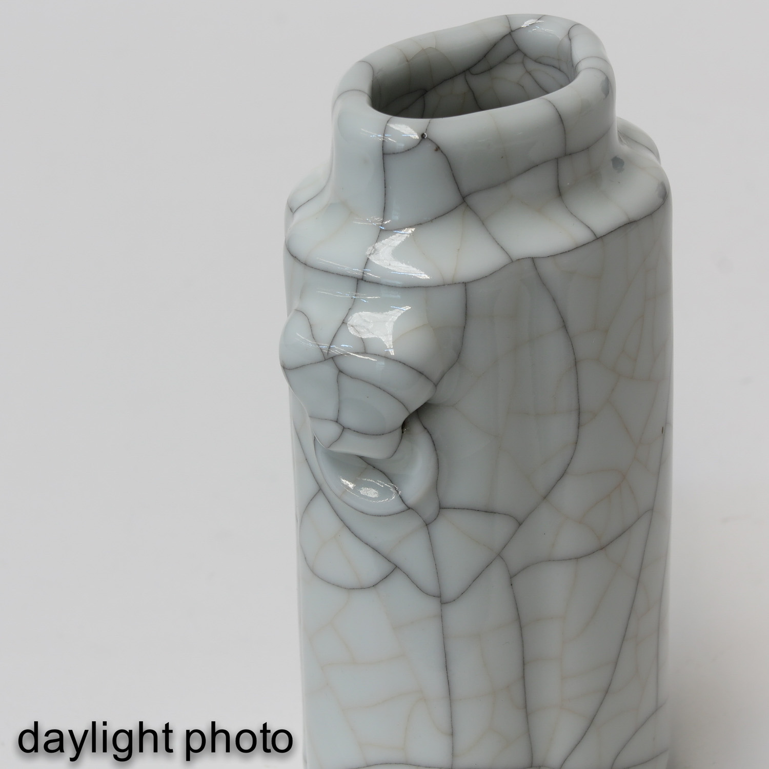 A Crackle Decor Vase - Image 9 of 9