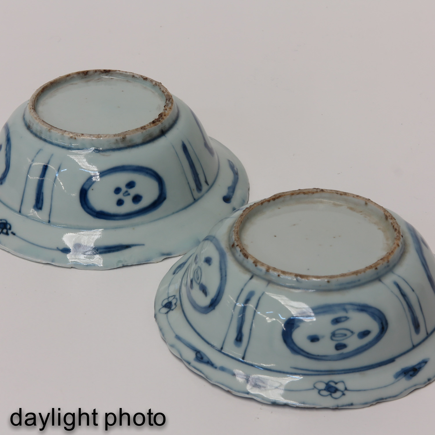 A Pair of Blue and White Bowls - Image 8 of 10