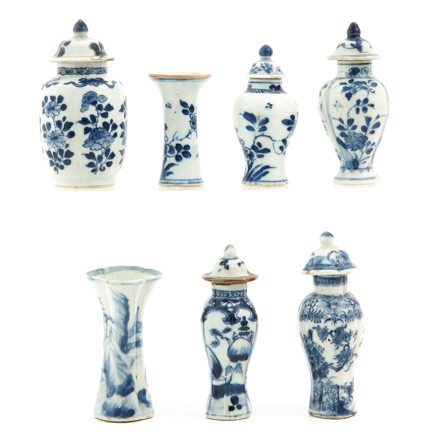 A Collection of 7 Miniature Vases - Image 2 of 9