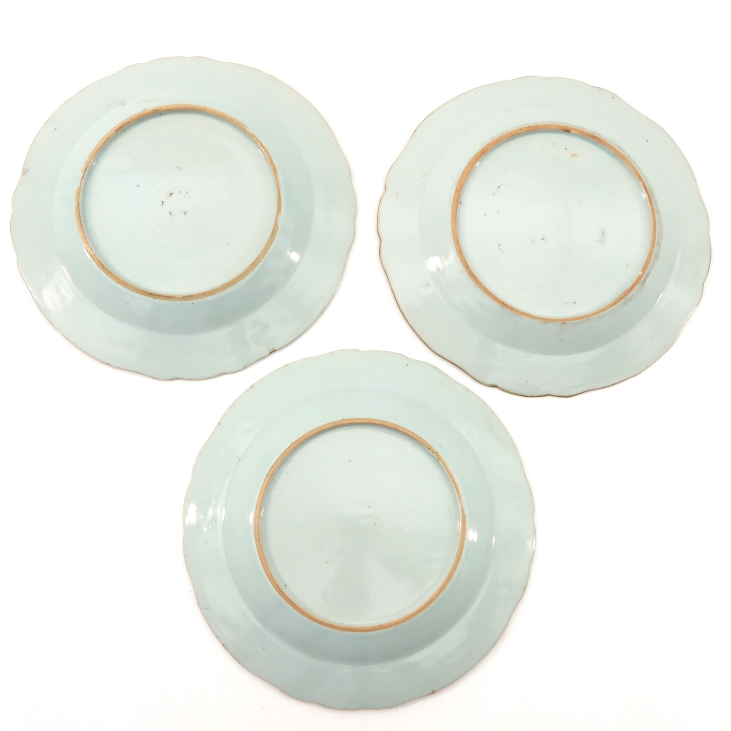 A Series of 5 Famille Rose Plates - Image 4 of 9