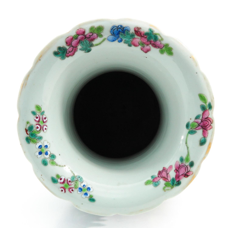 A Famille Rose Vase - Image 5 of 9