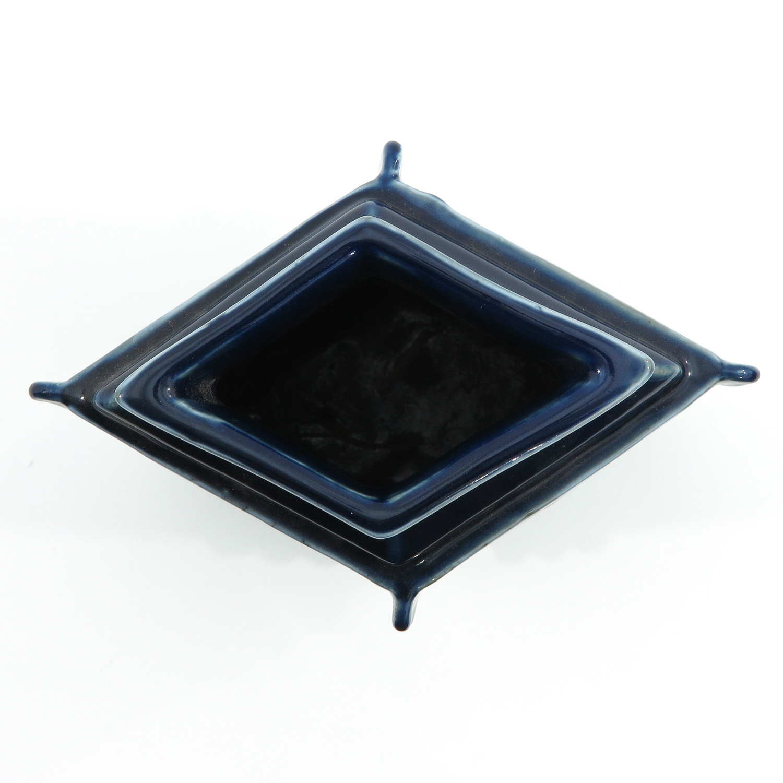 A Blue Glaze Vase - Image 5 of 10