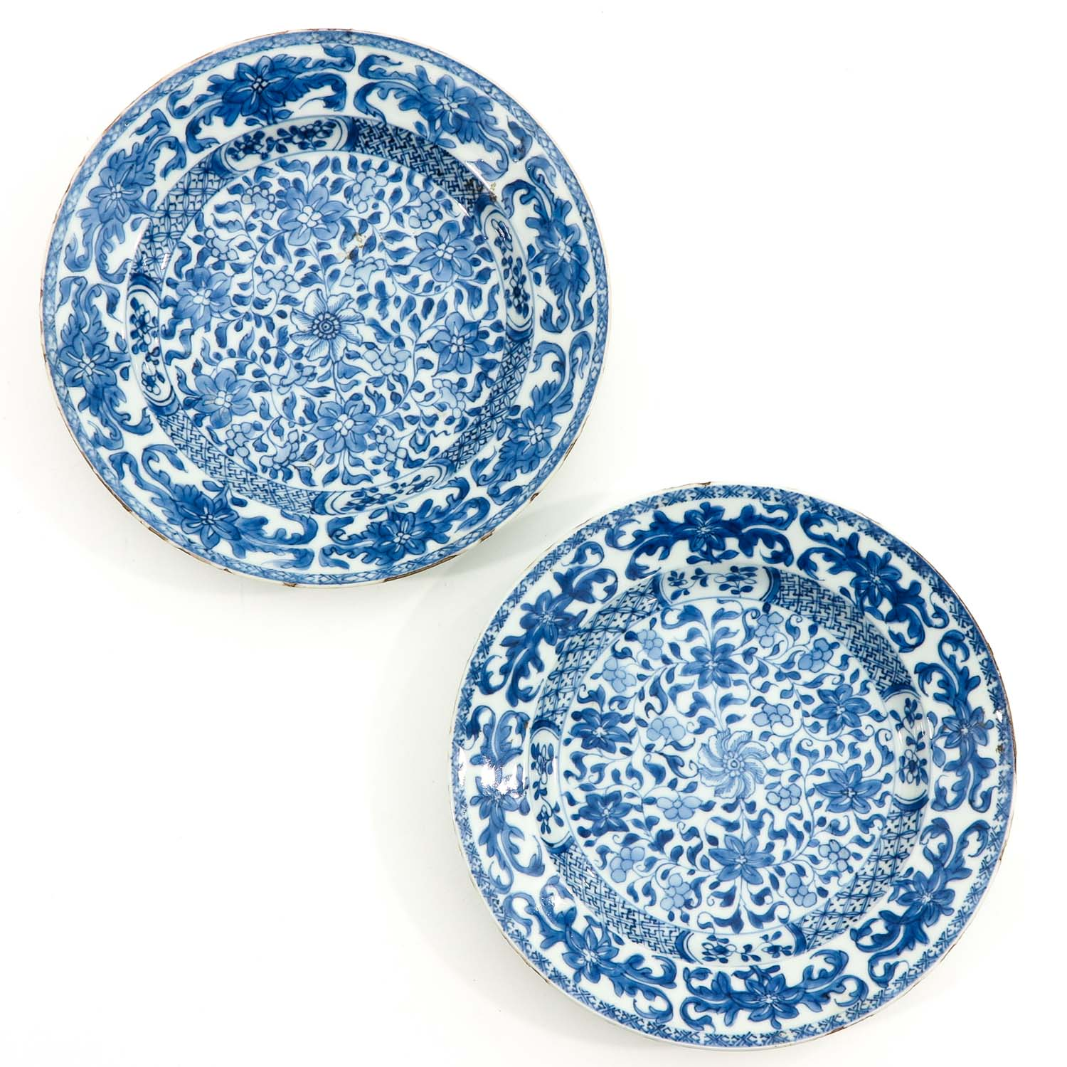 A Series of 5 Blue and White Plates - Image 5 of 10