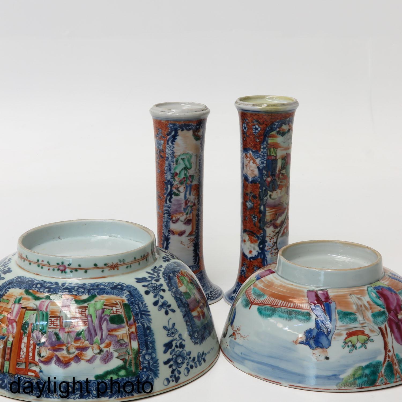 A Lot of 2 Mandarin Decor Bowls - Image 8 of 10