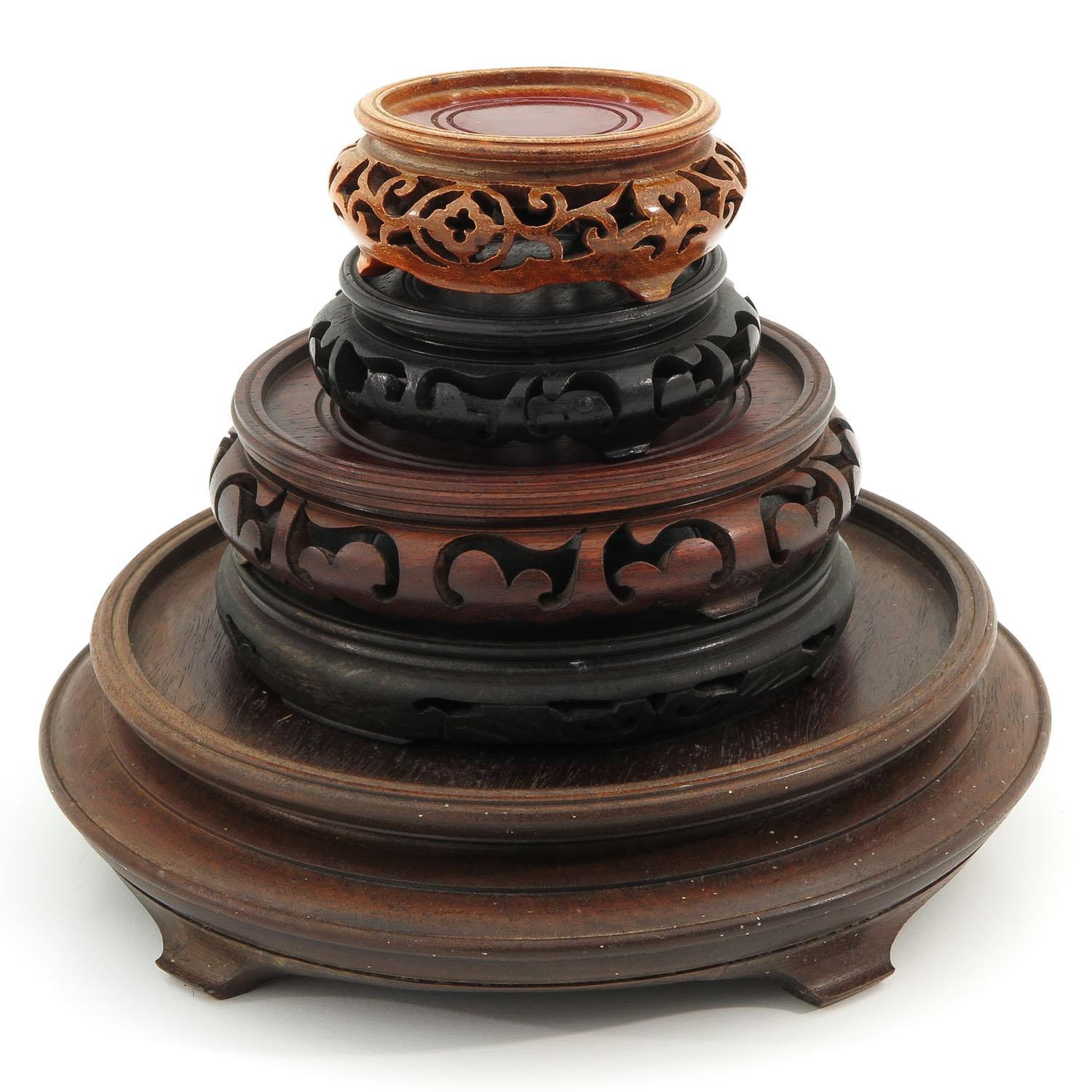 A Collection of Wood Bases - Image 4 of 8