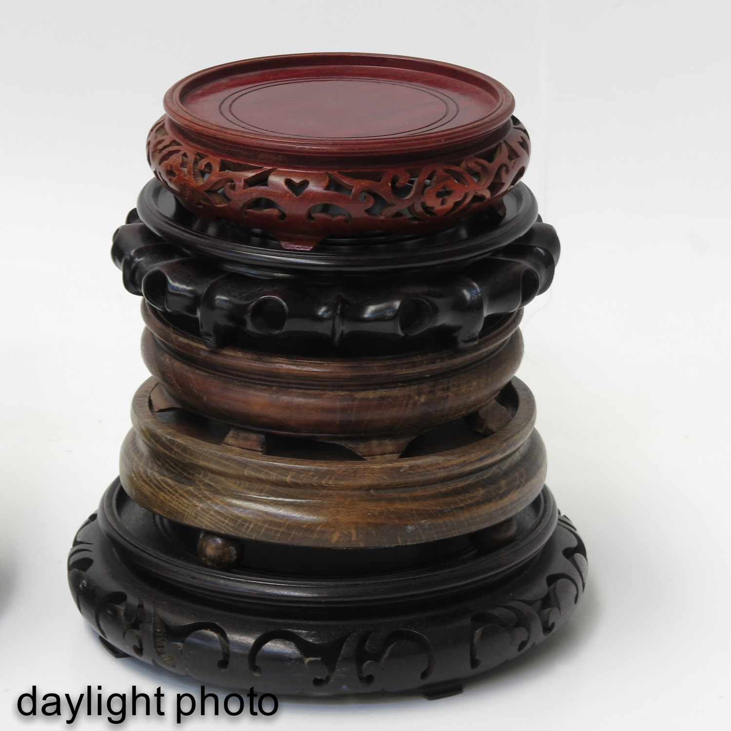 A Large Collection of Wood Bases - Image 8 of 8