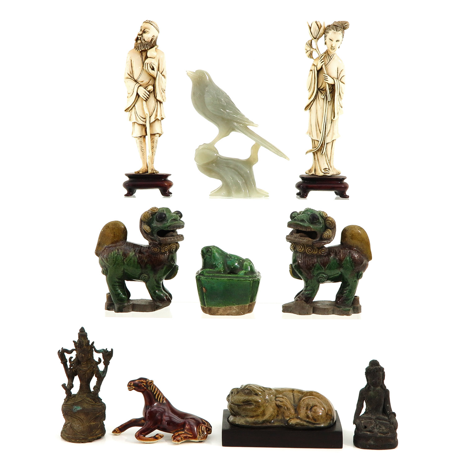 A Diverse Collection of Sculptures