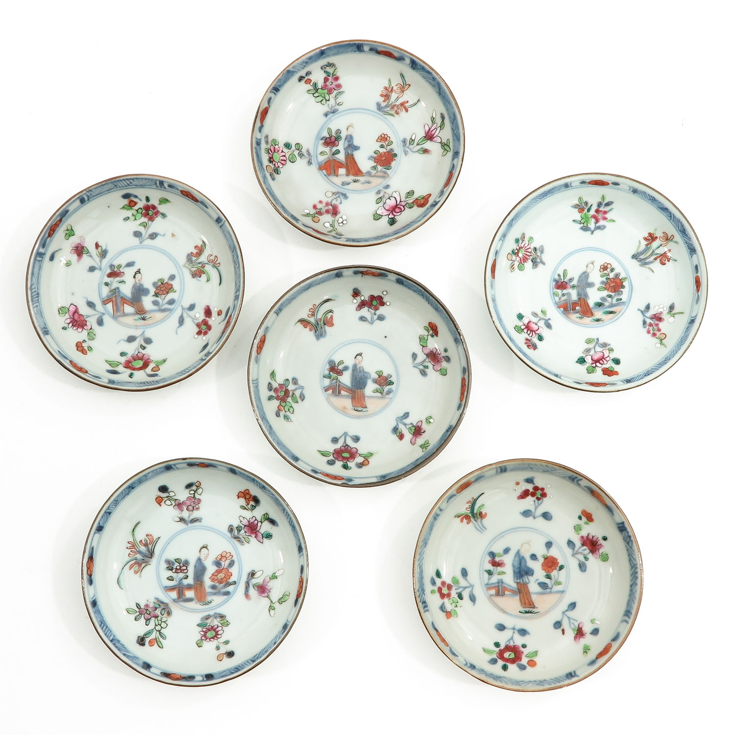 A Set of 6 Cups and Saucers - Image 7 of 10