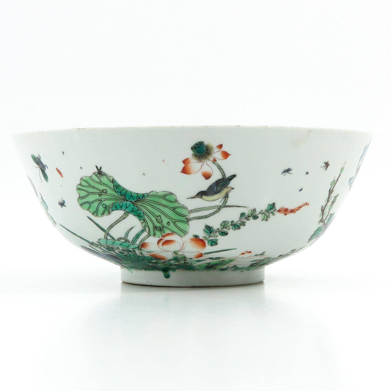 A Famille Verte Bowl - Image 3 of 9