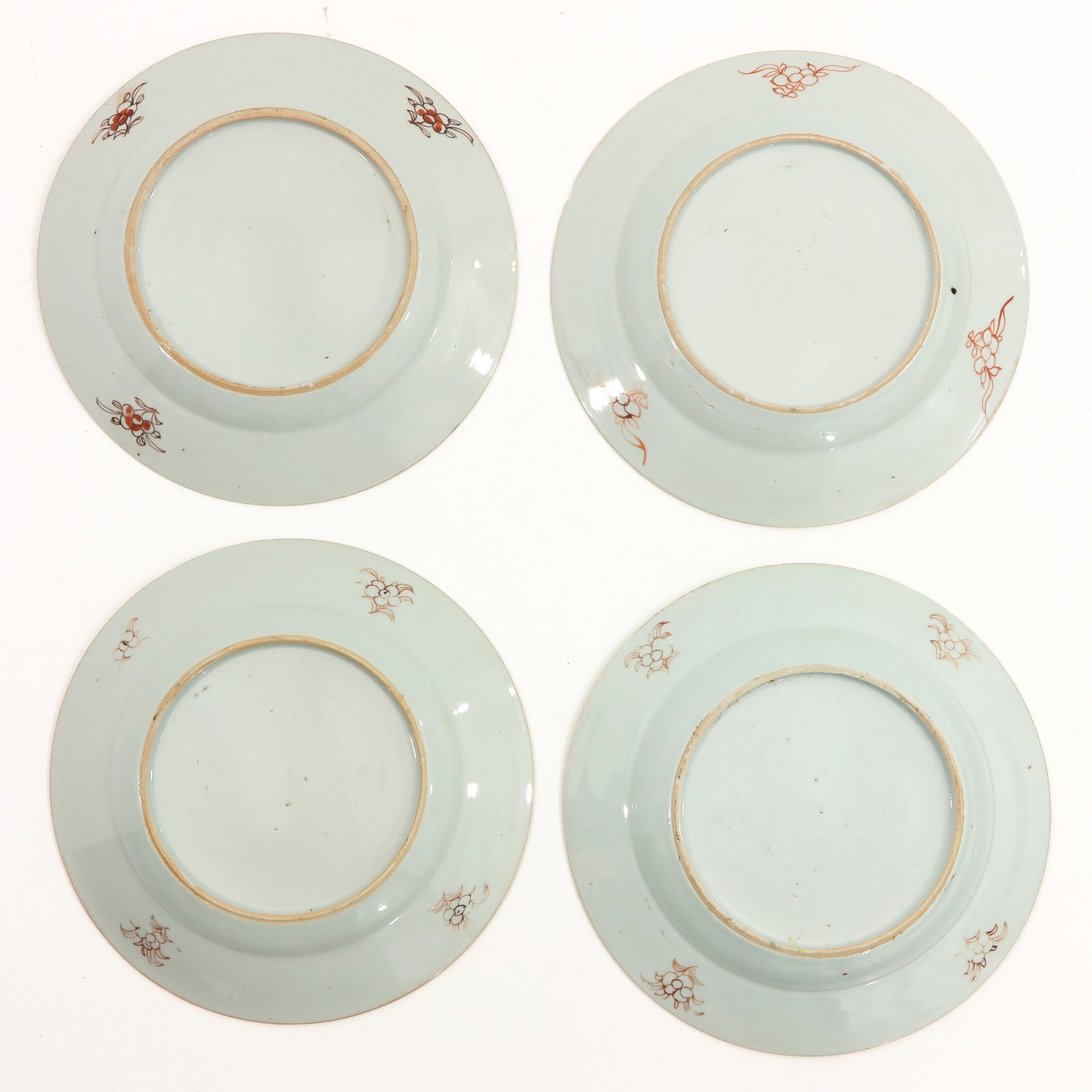 A Series of 4 Famille Rose Plates - Image 2 of 9
