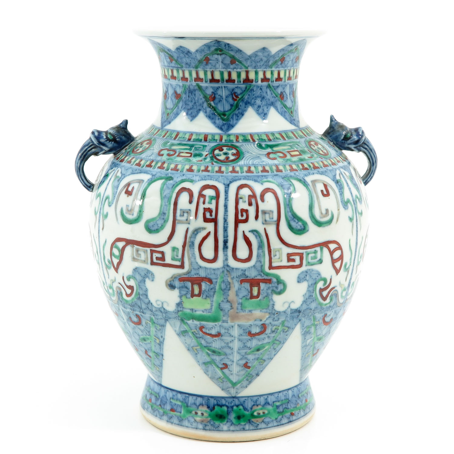 A Doucai Decor Vase